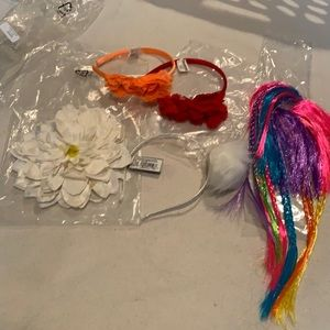 NWT hair accessory bundle